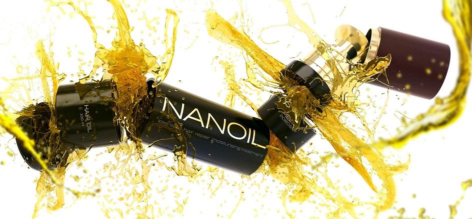 Nanoil voor laag poreus haar