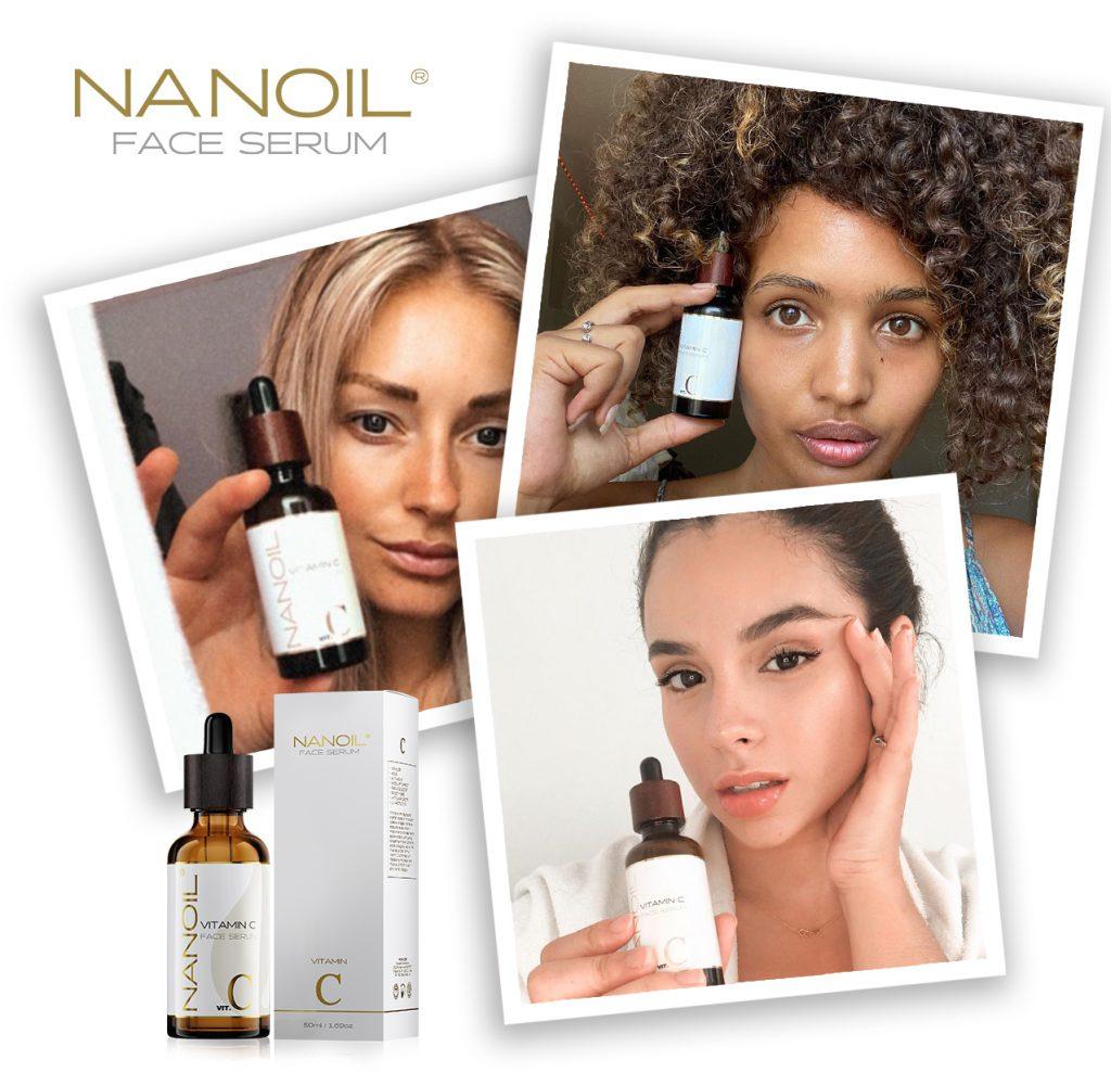 aanbevolen gezichtsserum met vitamine c Nanoil